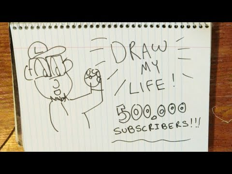 Draw My Life | TheJWittz - 500,000 Subscribers!