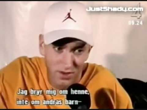 Eminem Interview In Sweden (In Swedish - Swesub)