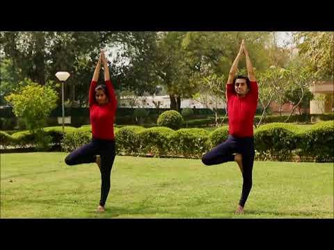 जाणून घेऊ या योगासने : वृक्षासन