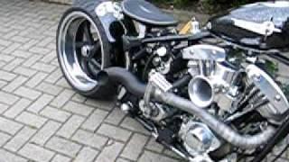 1957 Harley Davidson FXST Vintage Racer