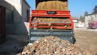 LS28 Bauschutt sieben / Screening of Demolition Waste