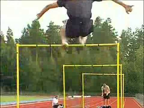 Stefan Holm Hurdles Training