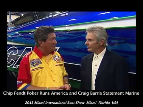Poker Runs America - 2013 Miami International Boat Show - Statement Marine