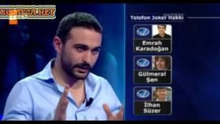 Kim Milyoner Olmak Ister 213 bölüm Önder Taşkıran 01.05.2013