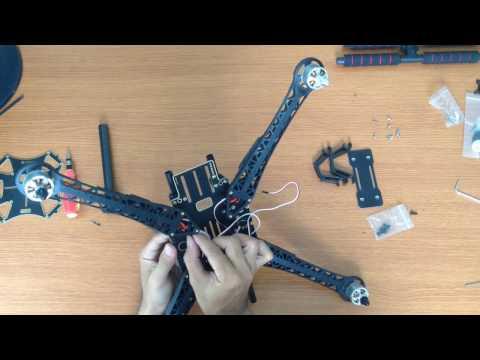 Building your own quadcopter! (S500 Frame + APM 2.8) - UCE17nAcuEGLAb_ioHVvjX_w