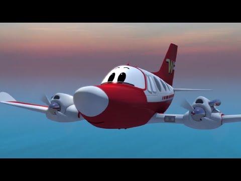 Мультфильмы - Будни аэропорта - Через Тихий океан (77 серия)
