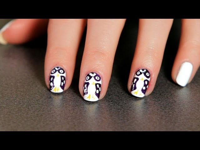 How to Do an Owl Design | Nail Art