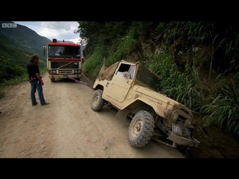 Bolivia-s Death Road - Top Gear - BBC