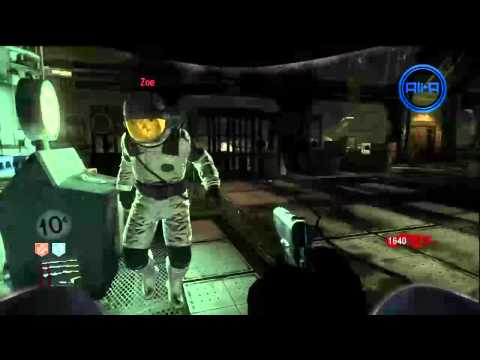 Black Ops MOON Gameplay! Strategy Guide LIVE! - Rezurrection Zombies - Part 1