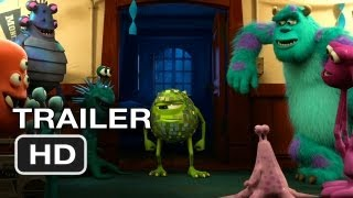 Monsters University Official Teaser (2013) Monsters Inc Prequel Pixar Movie HD