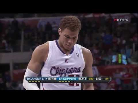 DUNK OF THE YEAR: Blake Griffin EPIC Poster Dunk over Kendrick Perkins (6ft.10) in HD (Jan. 30)