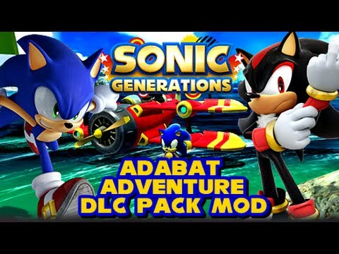 Sonic Generations PC - Adabat Adventure DLC Pack Mod