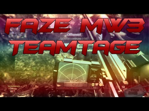 FaZe - Modern Warfare 3 Teamtage #3