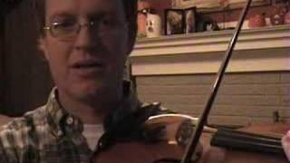 Violin Lesson #15; Tone Production Techniques