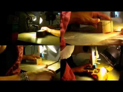 Process: Sustainable Wooden Jewelry by PrasseinDesignStudio