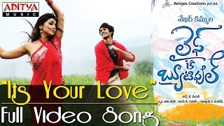 Its Your Love Full Video Song - Life is Beautiful