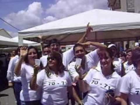 Festejo despues del desfile del jardin Maria Montessori Azogues