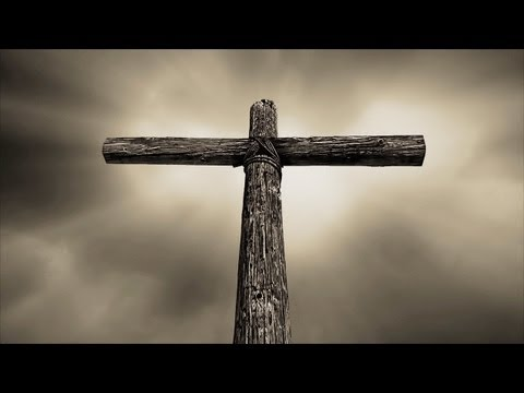 Rolling Thunder Cross Sepia Tone (seamless worship background loop)