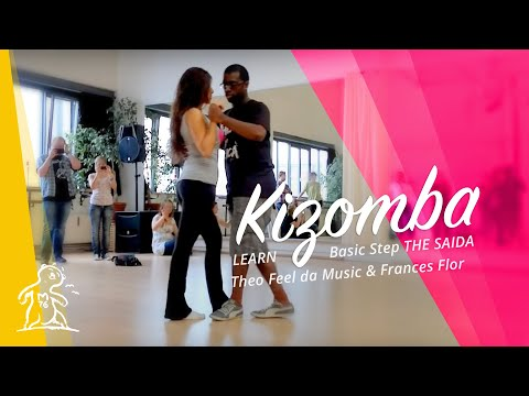 2 - Basic Step Kizomba The Saida, Cross & Turn - Theo Feel Da Musik & Flores workshop Hamburg 2012