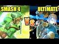 Super Smash Bros. Ultimate vs Wii U - Final Smash Comparison