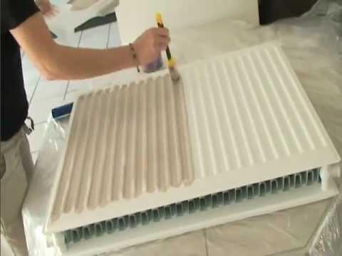 Peindre un radiateur peintures julien - Peinture radiateur couleur ...