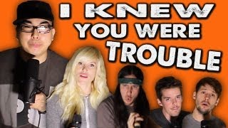 I Knew You Were Trouble - WALK OFF THE EARTH Feat. KRNFX