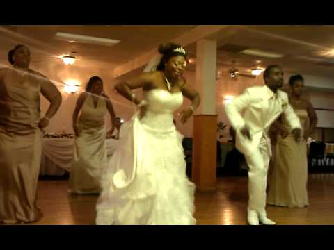 Carter Funny Wedding Dance 10/8/11