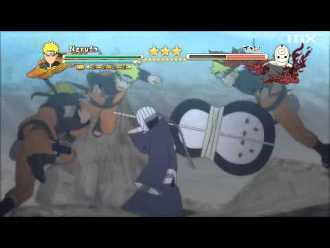 Naruto Shippuden: Ultimate Ninja Storm 3 - Tobi (Obito Uchiha) Boss Battle [Final] HD