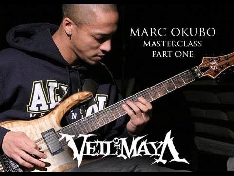 Marc Okubo - Veil of Maya: GuitarMessenger.com Masterclass 1 of 2