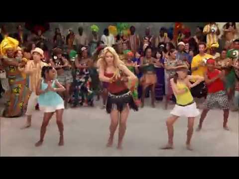 Shakira - Waka Waka (Video ufficiale dei mondiali del Sud Africa 2010)