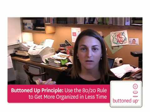 Home Office/Work Desk Organization Tips From Buttoned Up