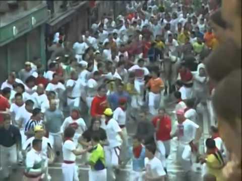 Encierro de San Fermín día 12 de Julio de 2003 480p
