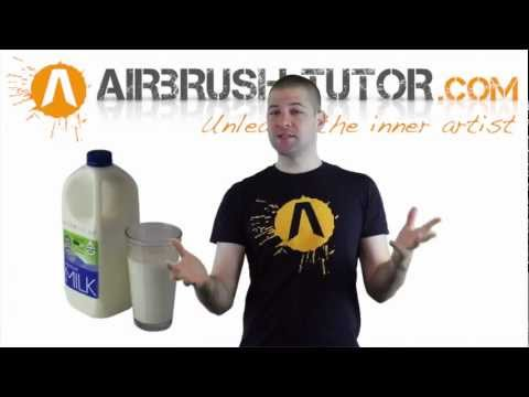 Quick Tip! How to Thin Airbrush Paint