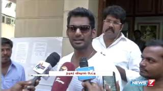 Watch Vishal pleases not to use 'wrong words' towards Kamal Haasan Red Pix tv Kollywood News 07/Oct/2015 online