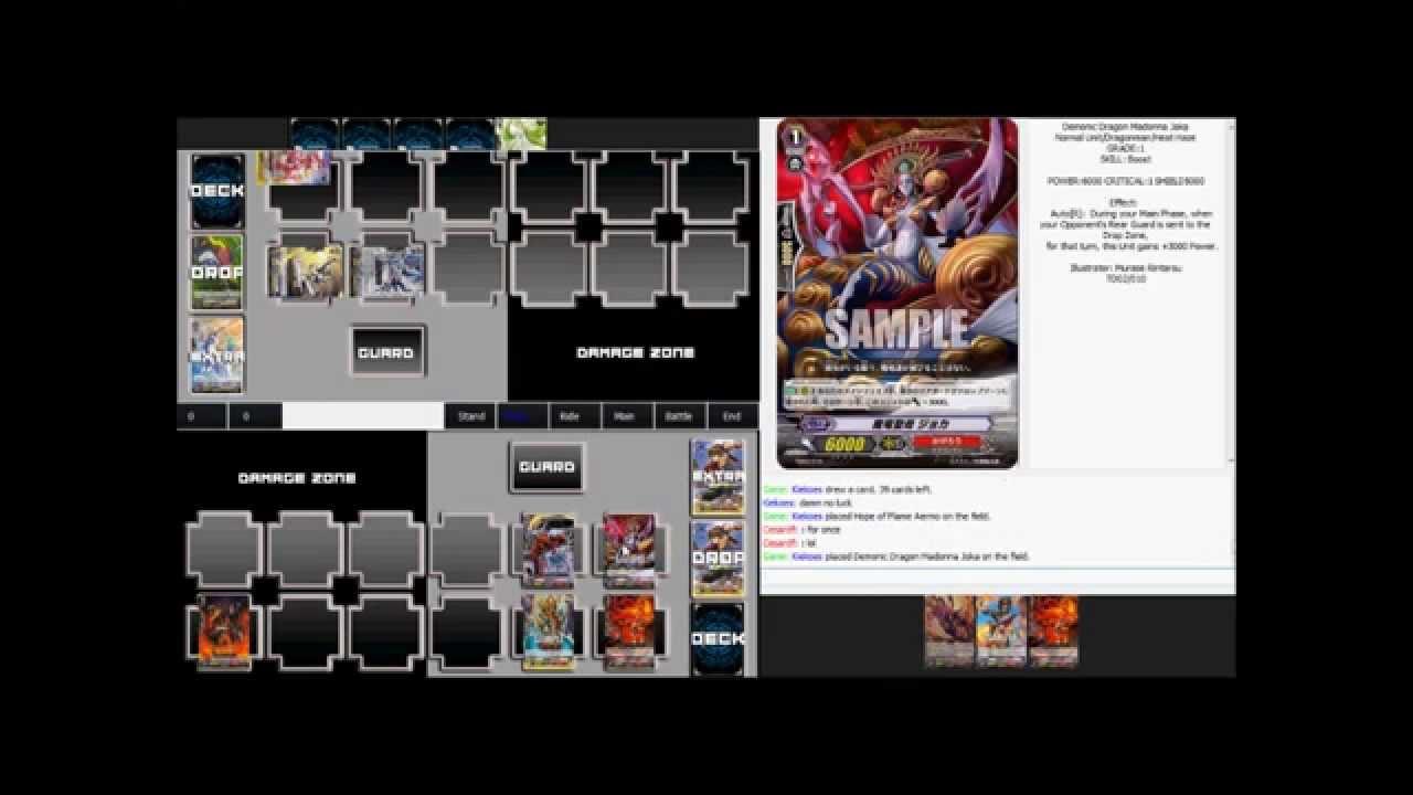 cardfight vanguard cray online download
