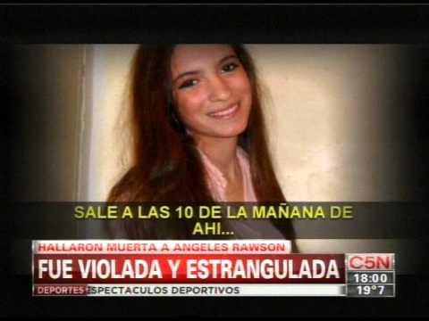 C5N - EL DIARIO: EDITORIAL SOBRE EL CASO ANGELES RAWSON