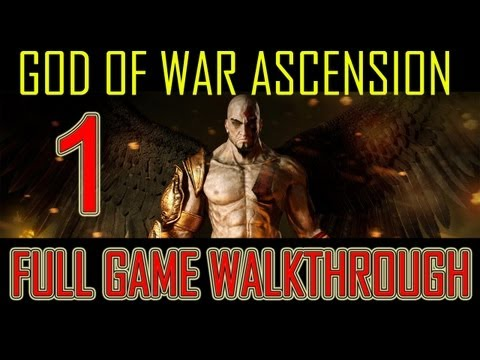 God of War Ascension - walkthrough part 1 let's play gameplay Full Game god of war 4