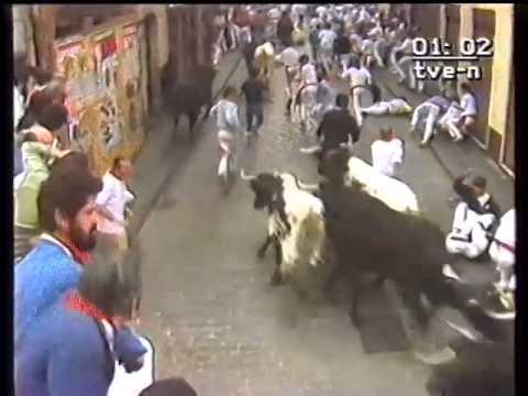 Encierro de San Fermín   13 de julio de 1984 480p
