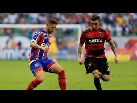Veja os gols de Bahia 1 x 3 Sport