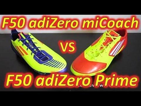 Adidas F50 adizero miCoach (Synthetic) VS Adidas F50 adizero (Prime/Synthetic) - Comparison - UCUU3lMXc6iDrQw4eZen8COQ