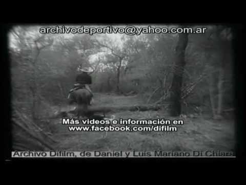 ARCHIVO DIFILM CHACO TALA DE ARBOLES Y TRABAJOS EN ASERRADERO (1956)