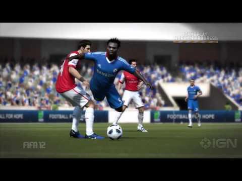 FIFA 12 Трейлер столкновений