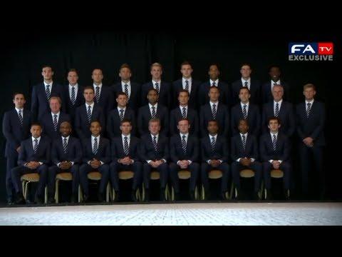Euro 2012 Exclusive - England Arrival | FATV
