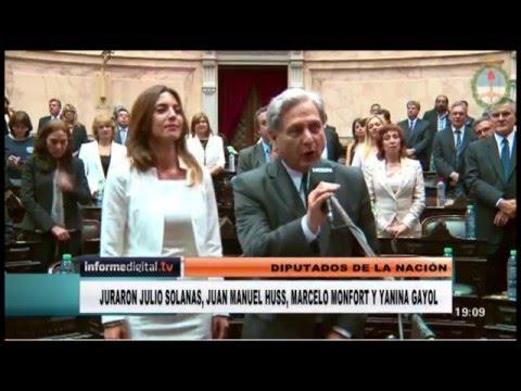 <b>Congreso.</b> Cómo juraron los diputados nacionales por Entre Ríos