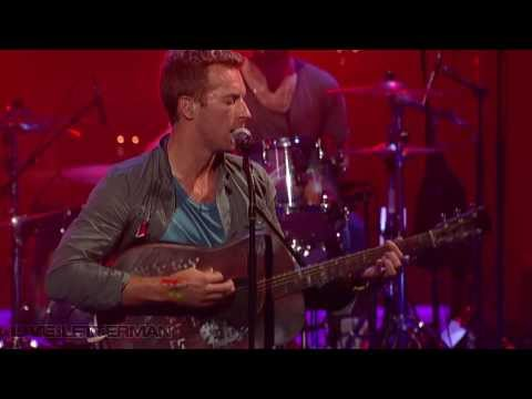 Coldplay - Charlie Brown (Live on Letterman)