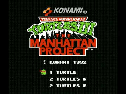 Teenage Mutant Ninja Turtles III - The Manhattan Project (NES) Music - Shredder Battle