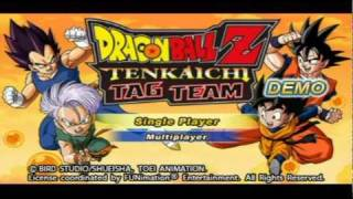 DRAGON BALL Z: TENKAICHI TAG TEAM DEMO GAMEPLAY view on youtube.com tube online.