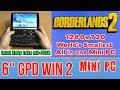 GPD WIN 2 Borderlands 2 - 128 GB SSD 8GB RAM Mini PC Intel m3-7Y30 HD Graphics 615