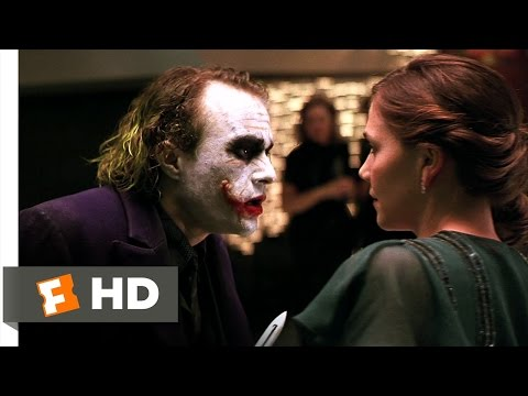 The Dark Knight (3/9) Movie CLIP - Always Smiling (2008) HD