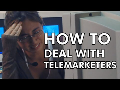 HOW TO DEAL WITH TELEMARKETERS (whole)